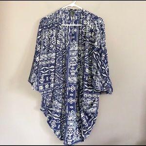 FOREVER 21 Boho Printed Kimono